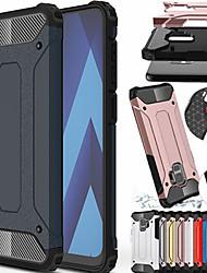 cheap -Shockproof Rugged Hybrid Armor Phone Case for Samsung Galaxy A10 A20E A20S A30 A40 A50 A70 2019 A750 A9 2018 A8 2018 A8 Plus 2018 A6 2018 A6 Plus 2018 A5 2017 A3 2017