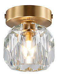 cheap -1-Light CXYlight 11 cm Mini Style Flush Mount Lights Copper Crystal Modern / Nordic Style Generic / G9