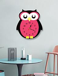 Недорогие -m.sparkling 2019new горячие продажи детская комната творческие настенные часы мультфильм сова немой часы красочные акриловые настенные часы уникальный подарок для детей