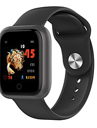 cheap -Smartwatch Digital Modern Style Sporty Silicone 30 m Water Resistant / Waterproof Heart Rate Monitor Bluetooth Digital Casual Outdoor - Black Gray