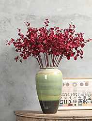cheap -Artificial Flower 4 Fork Peacock Dancing Orchid Home Wedding Decoration