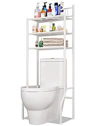 cheap -3-Shelf Bathroom Organizer Over The Toilet, Bathroom Spacesaver, White Finish