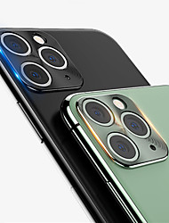 cheap -For iPhone 11 / 11 Pro Back Camera Metal Ring Case 360 Full Cover Rear Camera Lens Screen Protector for iPhone11Pro Max Protective Ring