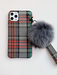 cheap -Case For Apple iPhone 11 / iPhone 11 Pro / iPhone 11 Pro Max DIY Back Cover Plush Textile