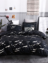 cheap -Duvet Cover Sets Ultra Soft Polyester/ Polyamide/ Camo Black White Grey/ Printed 3 PieceBedding Sets