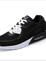 abordables -Garçon Confort Polyuréthane Chaussures d'Athlétisme Grands enfants (7 ans et +) Course à Pied Blanche / Noir Eté