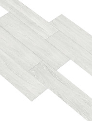 cheap -White Wood Grain Floor Stickers Floor Wallpaper Waterproof Wear-Resistant Self-Adhesive Floor Decoration Living Room Bedroom