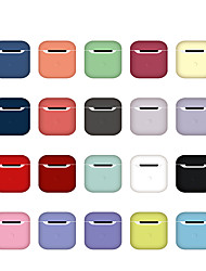 cheap -Charging Bracket For AirPods Shockproof / Dustproof / Pattern Headphone Solid Color