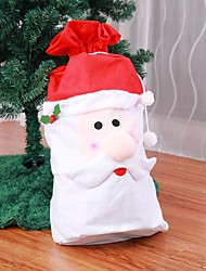 cheap -1pcs Santa Claus Backpack Large Pocket Gift Bag Christmas Gift Bag