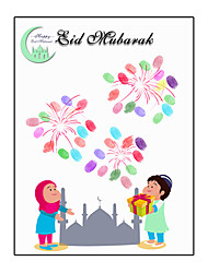 cheap -Event / Party / Eid al-Fitr Party Accessories Canvas Print Patterned Canvas Garden Theme / Classic Theme / Religious