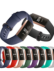 cheap -Watch Band Wrist Strap For Fitbit Charge 3 Sport Silicone Replaceable Bracelet Wristband