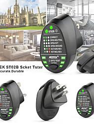 Недорогие -MESTEK ST02 Тестер розетки Цифровой дисплей Для осмотра дома установки