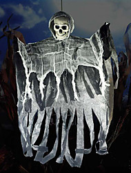 cheap -Ghost Halloween Props Men's Halloween Halloween Festival / Holiday Plastics Non-woven Gray Men's Women's Carnival Costumes