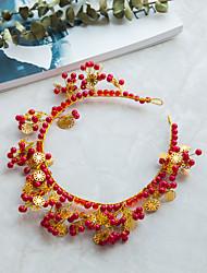 cheap -Crystal / Imitation Pearl / Alloy Tiaras with Crystal / Imitation Pearl 1 Piece Wedding Headpiece