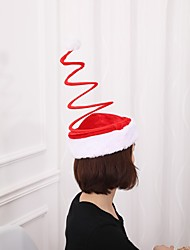 cheap -Christmas  Red Spring Cap Plush Accessories Christmas Party Santa Costume Supplies