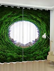 cheap -Cave Cigital Printing 3D Curtain Shading Curtain High Precision Black Silk Fabric High Quality Curtain