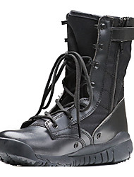 cheap -Men's Formal Shoes Synthetics Spring & Summer Boots Hiking Shoes Non-slipping Knee High Boots Black / Brown