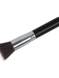 cheap -Professional Makeup Brushes Foundation Brush 1 Portable Professional Synthetic Hair / Artificial Fibre Brush Wood Foundation Brushes for