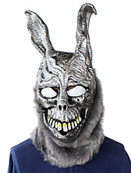 cheap -Mask Halloween Props Halloween Mask Inspired by Usagi / Rabbit Scary Movie Gray Masks Halloween Halloween Men's Women's