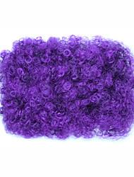 cheap -Hair Tool / Hair Tie One-Strap / Christmas Hair Bun Party / Color Gradient Drawstring Synthetic Hair Hair Piece Hair Extension One-Strap / Christmas Purple