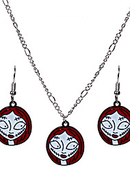 cheap -Vintage Necklace Earrings Necklace Masquerade Retro Vintage Halloween Alloy For Witch Cosplay Halloween Carnival Women's Costume Jewelry Fashion Jewelry