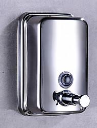 Недорогие -Дозатор для мыла Бутылка дезинфицирующее средство для рук Нажмите Нержавеющая сталь 500 ml
