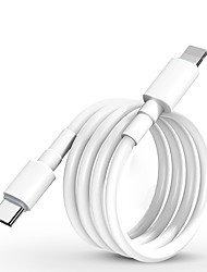 cheap -Fast Charging Cable For USB C Lightning For iPhone Xs X 8 pin to TypeC 3A Quick charger for Type C Lightning Macbook to phone