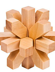 cheap -Wooden Puzzle / IQ Brain Teaser Professional Level / Speed Wooden Classic & Timeless Boys' Gift