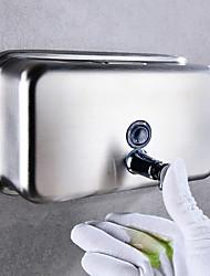 cheap -Soap Dispenser Soap / Foam Dispenser Press Stainless steel 1200 ml