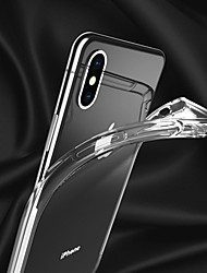 cheap -Applicable Apple iphonexs Mobile Phone Cases XSMAX Protective Case XR Airbag Drop-proof Transparent Soft Shell 6D Transonic Hole