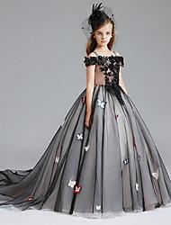 cheap -Kids Girls' Animal Dress Black