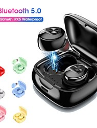 cheap -LITBest TWS 5.0 Bluetooth Mini Wireless Earphones Headphones Sport 3D Stereo Earbuds With Dual Microphone