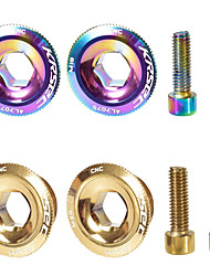 cheap -Screws For Mountain Bike MTB Aluminium Alloy Anti-Slip / High Strength / Durable Cycling Bicycle Champagne Gold Camouflage