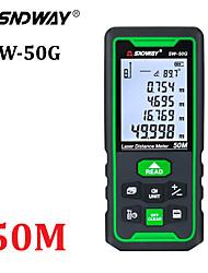 Недорогие -Лазерный дальномер Sndway зеленый дальномер 100 м 70 м 50 м дальномер Trena рулетка электронный линейка рулетка инструмент