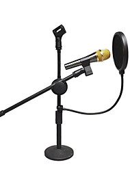 cheap -Professional Anti-spray Cover Large double-layer Microphone Recording Pop filter anti-spray net anti-noise anti-saliva
