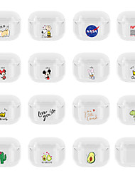 cheap -AirPods Case Christmas  Silicone Soft  Lovely Pattern  Portable For AirPods Pro (AirPods Charging Case Not Included)