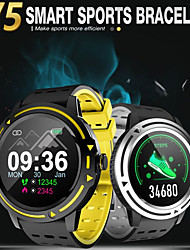 cheap -Couple's Smartwatch Digital Stylish Silicone Black 30 m Heart Rate Monitor Smart Sleep Mode Digital Fashion - Black Golden Silver One Year Battery Life
