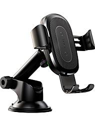 cheap -Baseus Wireless Charger Gravity Car Mountosculum Type Black