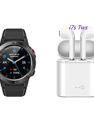 cheap -KING-WEAR® M4 Men Women SmartWatch Sports Outdoor Watch GPS Card Call Heart Rate Altitude Height Multi Sport Mode with TWS Wireless Bluetooth Headset