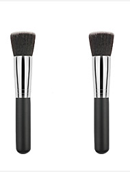 cheap -Professional Makeup Brushes Foundation Brush 1pcs Portable Professional Synthetic Hair / Artificial Fibre Brush Wood Foundation Brushes for Foundation Brush