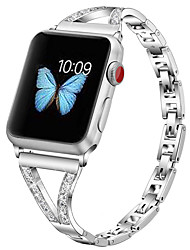 cheap -Watch Band for Apple Watch Series 6 SE 5 4 3 2 1  Apple Jewelry Design Stainless Steel Wrist Strap