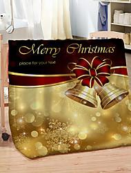 cheap -Digital Print Christmas Double Blanket Soft Warm Coral Fleece Sofa Blanket for Winter