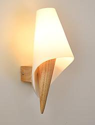 cheap -Modern Wall Lamps & Sconces Living Room / Bedroom Wood / Bamboo Wall Light 110-120V / 220-240V