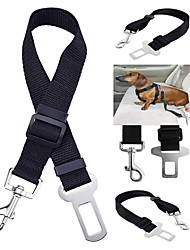 cheap -Dog Pets Car Seat Harness / Safety Harness Trainer Retractable Adjustable Size Solid Colored Terylene Alloy Black Camouflage Color Purple Husky Labrador Alaskan Malamute Golden Retriever Dalmatian