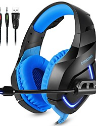 cheap -ONIKUMA K1-B Gaming Headset Wired Gaming Stereo Dual Drivers with Microphone