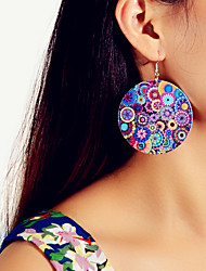 cheap -Women's Earrings Geometrical Floral Theme Tree of Life Stylish Basic Sweet Fashion Colorful Earrings Jewelry Royal Blue For Party Stage Holiday Club Bar 1 Pair