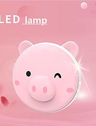 abordables -chaud main usb charge trésor beau cochon esprit animal de compagnie conduit miroir cosmétique comme la lumière de remplissage bébé chaud
