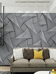 cheap -Mural Wallpaper Wall Sticker Covering Print Adhesive Required 3D Relief Effect Canvas Home Décor