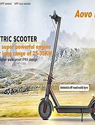 Недорогие -(США / ЕС прямой) Aovo Pro 350 Вт двигатель светодиодная фара двойной тормоз складной смартфон приложение управления электрическим скутером 8,5-дюймовый ЖК-дисплей 120 кг грузоподъемность макс. 30