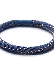 cheap -Women's Hair Ties For School Work Festival Resin Cord Blue